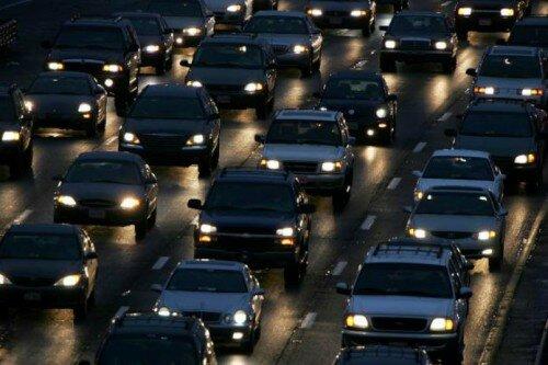 Ночное вождение автомобиля