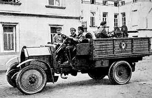 Первый автомобиль России АМО