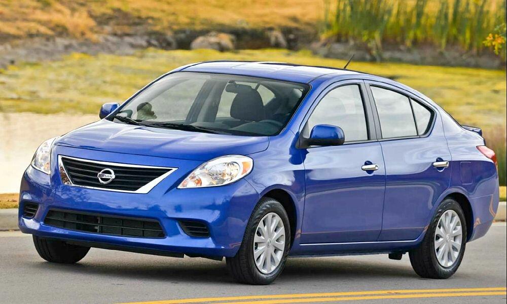 Седан Nissan Versa — что нового на 2014 год