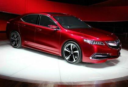 Автомобиль Acura TLX седан