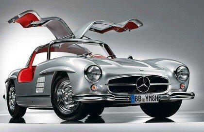 Автомобиль Mercedes 300 SL